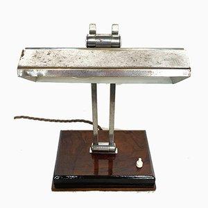 Vintage Tischlampe aus Holz
