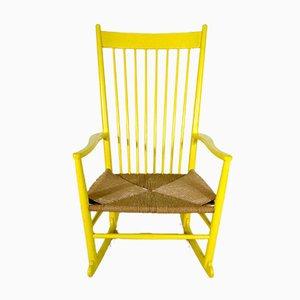 Rocking Chair Modèle J16 par Hans J. Wegner pour FDB, 1960s