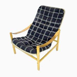 Schwedischer Junker Sessel von Bror Boije für Dux, 1970er