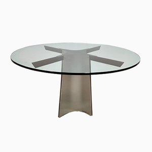Dining Table by Luigi Saccardo for Maison Jansen, 1970s