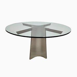 Table de Salle à Manger par Luigi Saccardo pour Maison Jansen, 1970s