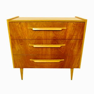 Small Swedish Teak Chest of Drawers, 1960s