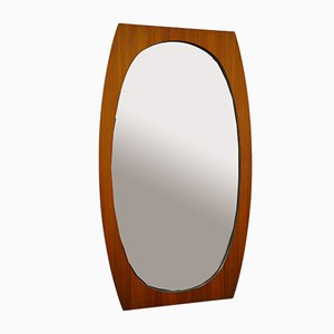 Ovaler Spiegel von La Permanente Mobili Cantù, 1960er