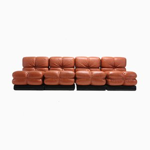 San Martino Sectional Sofa, 1980s, Set of 4