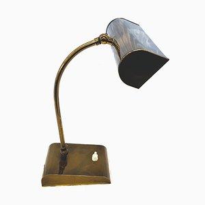 Mid-Century Brass Table Lamp