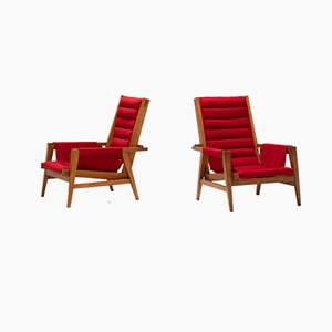 Armchairs from Giulio Alchini, 1950s, Set of 2