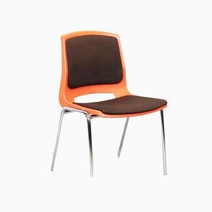 Norwegische Stühle von Stål og Stil, 1970er, 4er Set