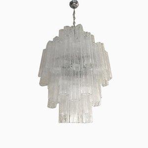 Double Lustre Tronchi Sputnik en Verre Murano de Italian Light Design, Italie