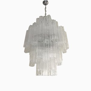 Italian Double Murano Glass Tronchi Sputnik Chandelier from Italian Light Design