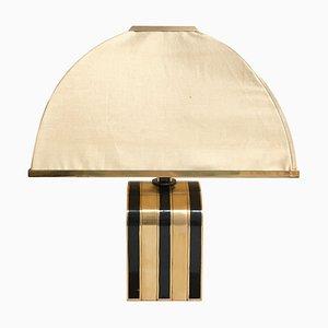 Italienische Mid-Century Messing Tischlampe von Romeo Rega, 1960er