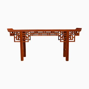 Chinese Console Table from Elephant House, Thailand, 1950s