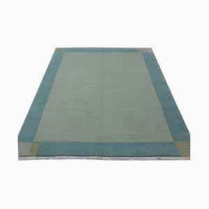 Nepali Modern Grey Wool Carpet, 2001