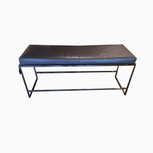 Leather Bench from Casprini