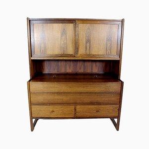 Secretaire in palissandro di Danish Furnitures Makers Control, Scandinavia, anni '60