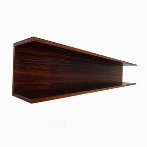 Large Mid-Century Danish Rosewood Shelf, 1960s