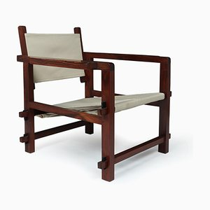 Brazilian Rosewood Sling Armchair, 1960s