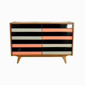 Model U-458 Chest of Drawers by Jiří Jiroutek for Interier Praha, 1960s