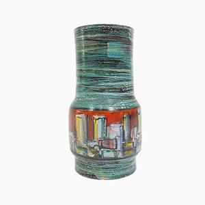 Italienischer Glasierter Keramik Schirmständer, 1950er