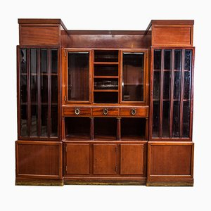 Large Antique Cabinet Attributed to Adolf Loos for FO Schmidt