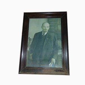 Vintage Lenin Painting