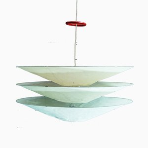 Floatation Pendant Lamp by Hagen Sczech for Ingo Maurer, 1990s