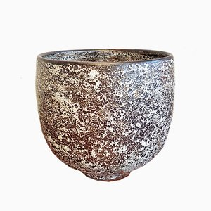 Spot Glaze Atomic Magnetite Bowl by Richard Freiwald, 2000s