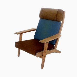 Teak Model GE-290 Lounge Chair by Hans J. Wegner for Getama, 1960s