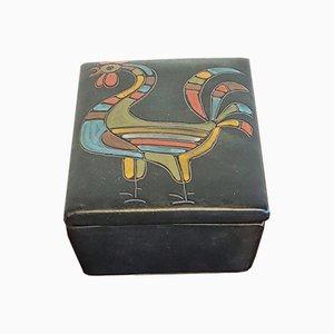 Rooster Schmuckdose von Alvino Bagni für Alvino Bagni, 1960er
