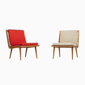 Boomerang Chairs by Hans Mitzlaff for WK Möbel, 1960s, Set of 2
