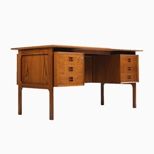 Mid-Century Danish Teak Desk by Arne Vodder for Sibast, 1960s