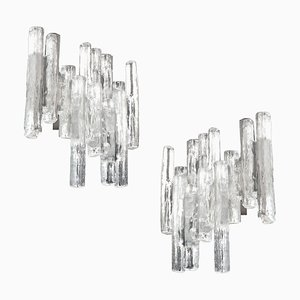 Mid-Century Murano Glass Sconces by J. T. Kalmar for Kalmar Franken KG, 1960s, Set of 2