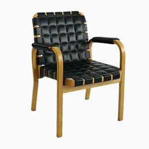 Modell 45 Armlehnstuhl von Alvar Aalto für Artek, 1960er