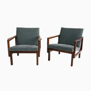 Tammukka Easy Chairs by Aulis Leinonen for Asko, 1960s, Set of 2