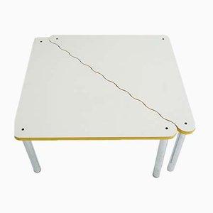 Modell Experiment Tische von Yrjo Kukkapuro für Avarte, 1980er, 2er Set