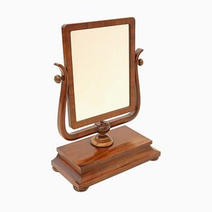 Miroir Pivotant Regency Antique en Acajou, 1820s