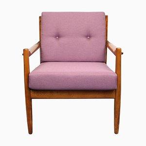 Fliederfarbener Sessel, 1960er