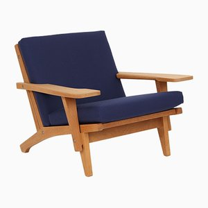 Model GE370 Lounge Chair by Hans J. Wegner for Getama, 1970s