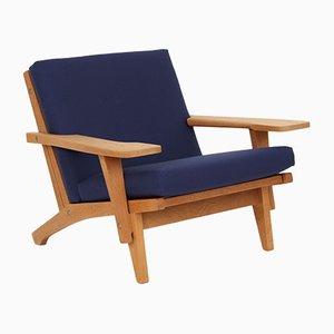 Model GE370 Lounge Chair by Hans J. Wegner for Getama, 1970s