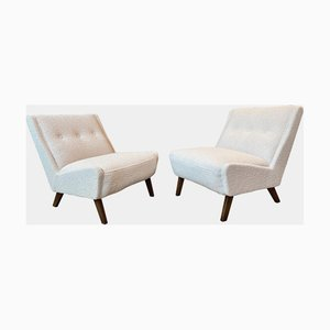 Mid-Century Armchairs by Ernest Race, 1953, Set of 2