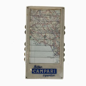 Italian Automatic Map from Davide Campari, 1950s