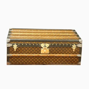 Antique Trunk with Monogram from Louis Vuitton