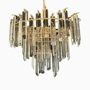Glass Chandelier from Venini, 1980s