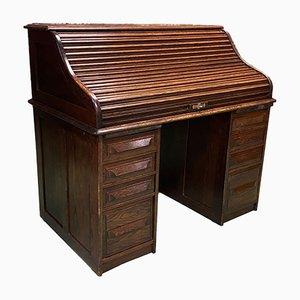 Amerikanischer Schreibtisch aus Eiche, 1930er