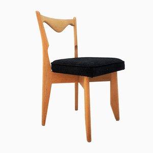Esszimmerstühle von Guillerme et Chambron für Votre Maison, 1970er, 4er Set
