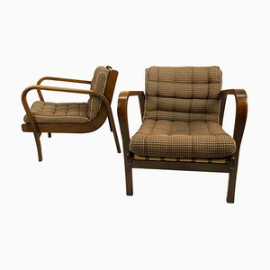 Armchairs by Karel Kozelka and Antonin Kropacek, 1940s, Set of 2