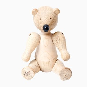 Danish Oak Bear by Kay Bojesen for Bojesen, 1952