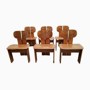 Africa Chairs von Afra & Tobia Scarpa für Maxalto, 1970er, 6er Set