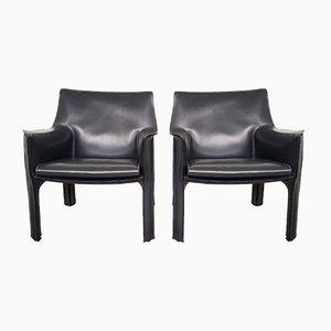 CAB414 Sessel von Mario Bellini für Cassina, 1980er, 2er Set