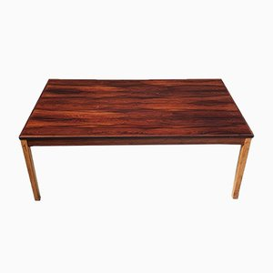 Mid-Century Norwegian Rosewood Coffee Table by Tomter Bruksbo for Haug Snekkeri