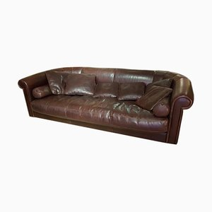 Model Baxter Alfred Brown Tuscany Leather Sofa, 2007